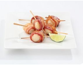 Bacon Wrapped Sea Scallops