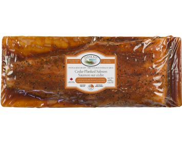 Applewood with Orange & Ginger  Cedar Planked Atlantic Salmon 685g