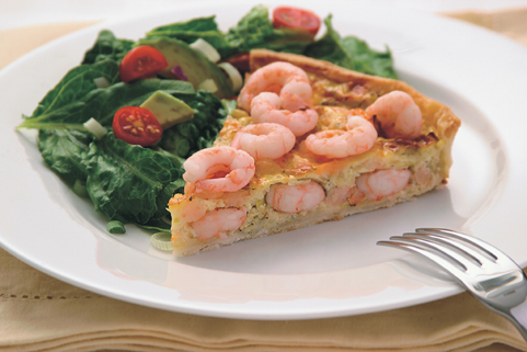 Coldwater Shrimp Quiche