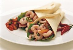 Clearwater Shrimp Quesadillas